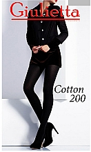 "Духи, Парфюмерия, косметика Колготки ""Cotton"" 200 Den, light melange - Giulia"