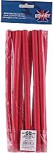 Духи, Парфюмерия, косметика Бигуди для волос гибкие 12/240 мм, красные - Ronney Professional Flex Rollers RA 00041