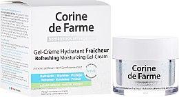 Духи, Парфюмерия, косметика Освежающий увлажняющий крем-гель для нормальной и комбинированной кожи - Corine de Farme