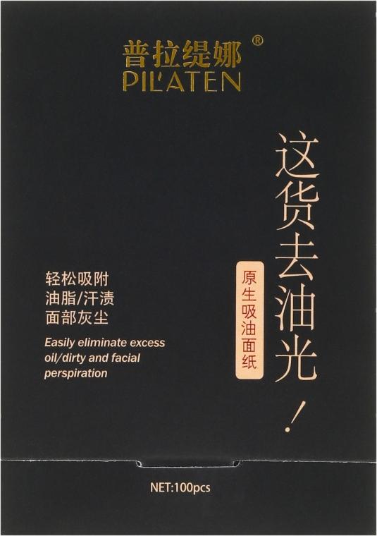 Матирующие салфетки для лица - Pil'aten Papeles Matificantes Native Blotting Paper
