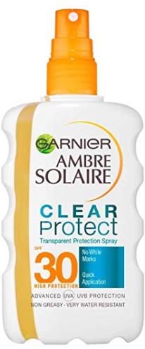 Солнцезащитный двухфазный спрей SPF 30 - Garnier Ambre Solaire