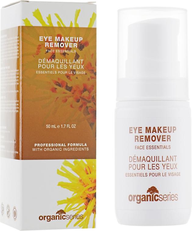 Средство для снятия макияжа c глаз - Organic Series Eye Makeup Remover