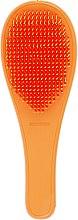 Духи, Парфюмерия, косметика Расческа для волос двухцветная 03881 Detangler, оранжевая - Eurostil Detangle