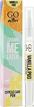 Духи, Парфюмерия, косметика Масло для кутикулы - GO Active Thank Me Later Vanilla Pud Cuticle Care Pen