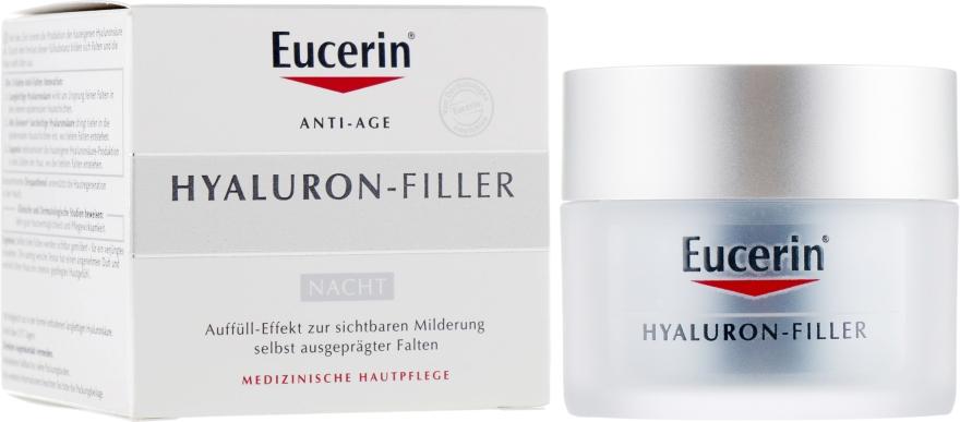 Ночной крем против морщин для всех типов кожи - Eucerin Hyaluron-Filler Night