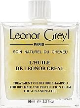 Духи, Парфюмерия, косметика Масло для волос - Leonor Greyl Treatment Before Shampoo