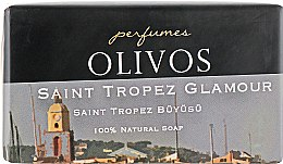 """Духи, Парфюмерия, косметика Натуральное оливковое мыло """"Гламурный Сан-Тропе"""" - Olivos Perfumes Saint Tropez Glamour Soap"""