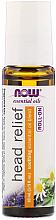 Духи, Парфюмерия, косметика Масло от головной боли, шариковый аппликатор - Now Foods Essential Oils Head Relief Roll-On