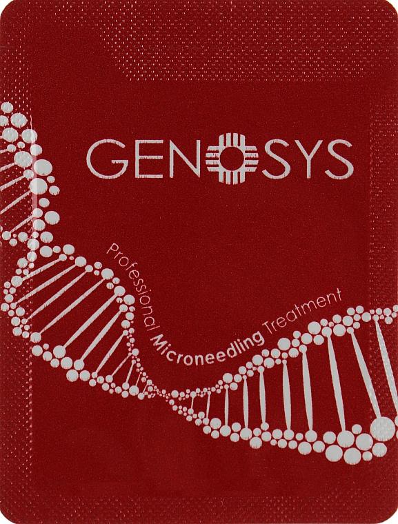 При покупке акционных товаров Genosys получите в подарок набор пробников