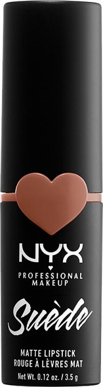 Матовая помада для губ - NYX Professional Makeup Suede Matte Lipstick