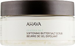 Духи, Парфюмерия, косметика Масляно-солевой скраб для тела на основе соли мертвого моря - Ahava Softening Butter Salt Scrub