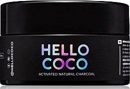 Духи, Парфюмерия, косметика Угольный отбеливающий порошок для зубов - Hello Coco Sweet Mint Activated Natural Charcoal Teeth Whitener