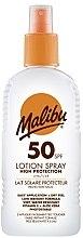 Духи, Парфюмерия, косметика Солнцезащитное лосьон-спрей для тела - Malibu Sun Lotion Spray High Protection Water Resistant SPF 50