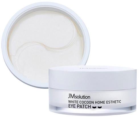 Омолаживающие патчи с экстрактом жемчунга и белого кокона - JMsolution Silky Cocoon Home Esthetic Eye Patch