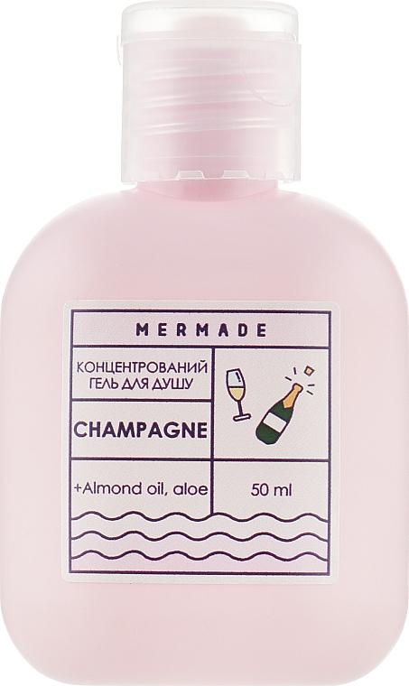 "Концентрированный гель для душа ""Шампанське"" - Mermade Champagne"