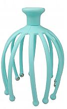 Духи, Парфюмерия, косметика Расслабляющий массажер-осьминог для головы, голубой - Deni Carte