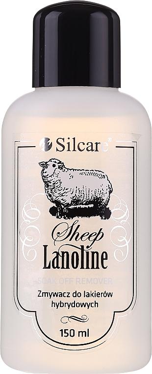 Жидкость для снятия гель-лака с ланолином - Silcare Soak Off Remover Lanoline