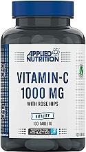 """Духи, Парфюмерия, косметика Пищевая добавка """"Витамин С"""" 1000 mg, 100 таблеток - Applied Nutrition Vitamin C With Rose Hips 1000mg"""