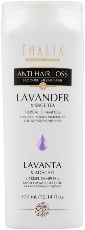 Шампунь с экстрактом лаванды и шалфея - Thalia Anti Hair Loss Shampoo