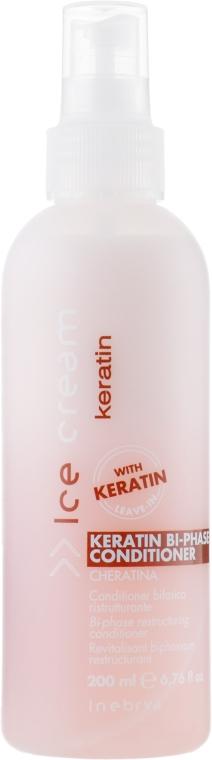 Спрей-бальзам для сухих волос - Inebrya Keratin Bi-Phase Conditioner
