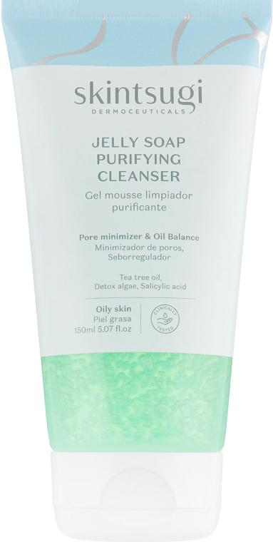 Мягкое гель-мыло для лица очищающее - Skintsugi Jelly Soap Purifying Cleanser