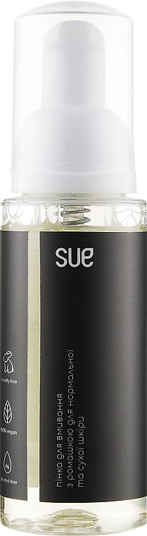 Пенка для умывания с ромашкой для нормальной и сухой кожи - Sue