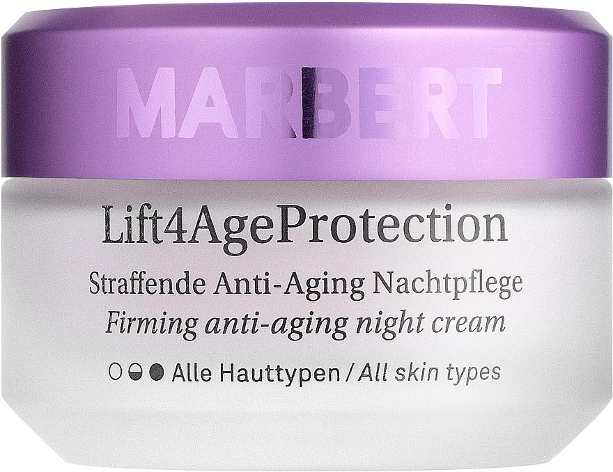Укрепляющий ночной крем - Marbert Lift4Age Protection Straffende Anti-Aging Night Care