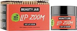 Духи, Парфюмерия, косметика Сахарный скраб для губ - Beauty Jar Lip Zoom Hot Lip Scrub
