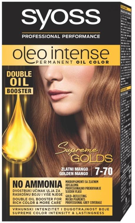 Краска для волос - Syoss Oleo Intense Supreme Golds