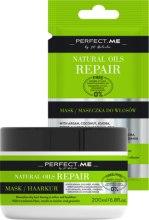 Духи, Парфюмерия, косметика Восстанавливающая маска для волос - Perfect.Me Natural Oils Repair Mask