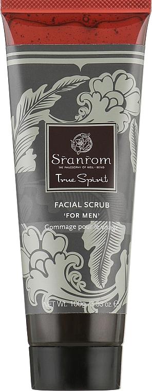 "Скраб для лица ""Истинный Характер"" - Sranrom True Spirit Facial Scrub For Men"