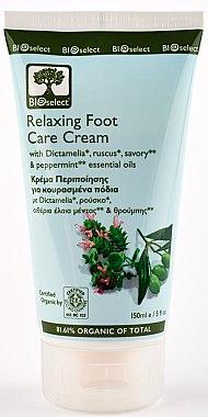 Крем для ног расслабляющий с Диктамелией и мятой - BIOselect Relaxing Foot Care Cream