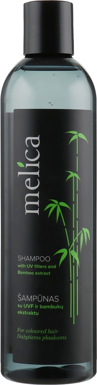 Шампунь с экстрактом бамбука и УФ-фильтрами - Melica Shampoo