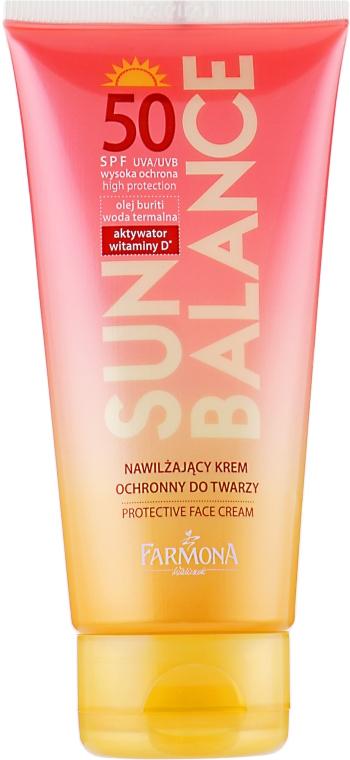 Солнцезащитный крем для лица SPF 50 - Farmona Sun Balance Cream