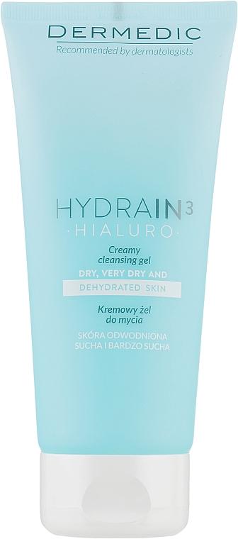 Кремовый гель для умывания лица и тела - Dermedic Hydrain 3 Hialuro Gel