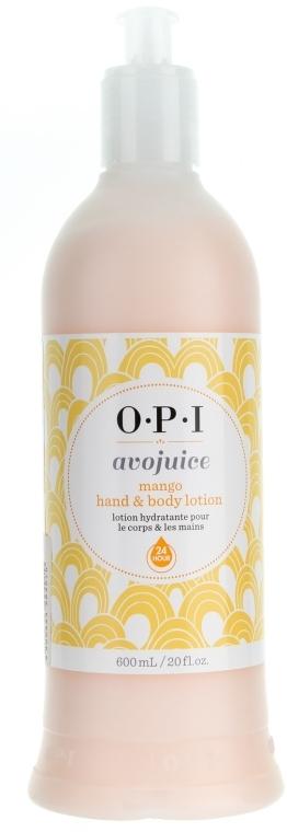"Лосьон для рук и тела ""Манго"" - O.P.I Avojuice Lotion Mango"
