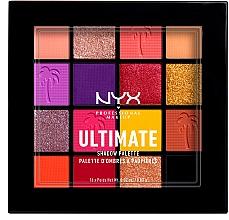 Духи, Парфюмерия, косметика Палетка теней для век и пигментов для лица - NYX Professional Makeup Ultimate Shadow Palette