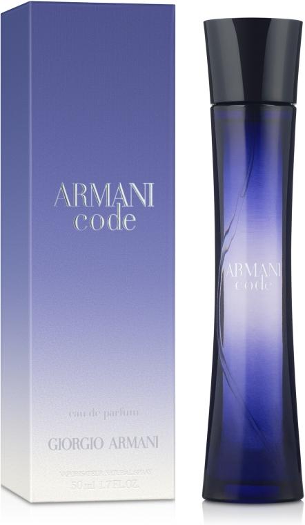 Giorgio Armani Code Women - Парфюмированная вода — фото N2