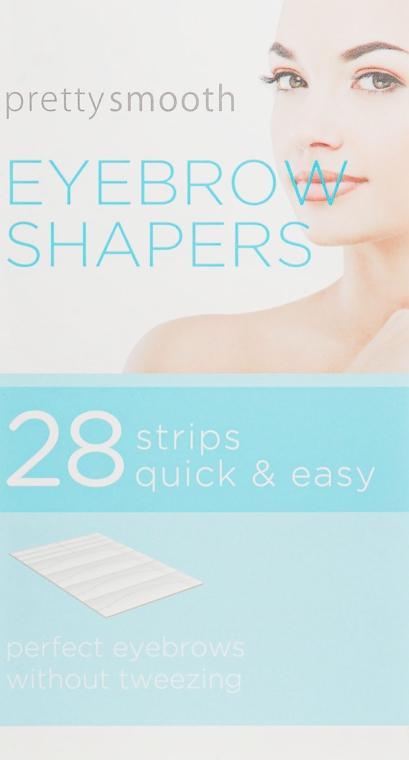 Полоски для коррекции бровей - Skin Academy Eyebrow Shapers