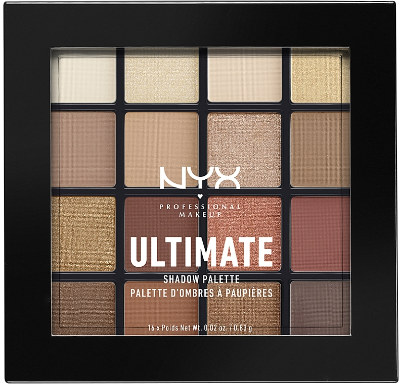 Палетка теней - NYX Professional Makeup Ultimate Shadow Palette
