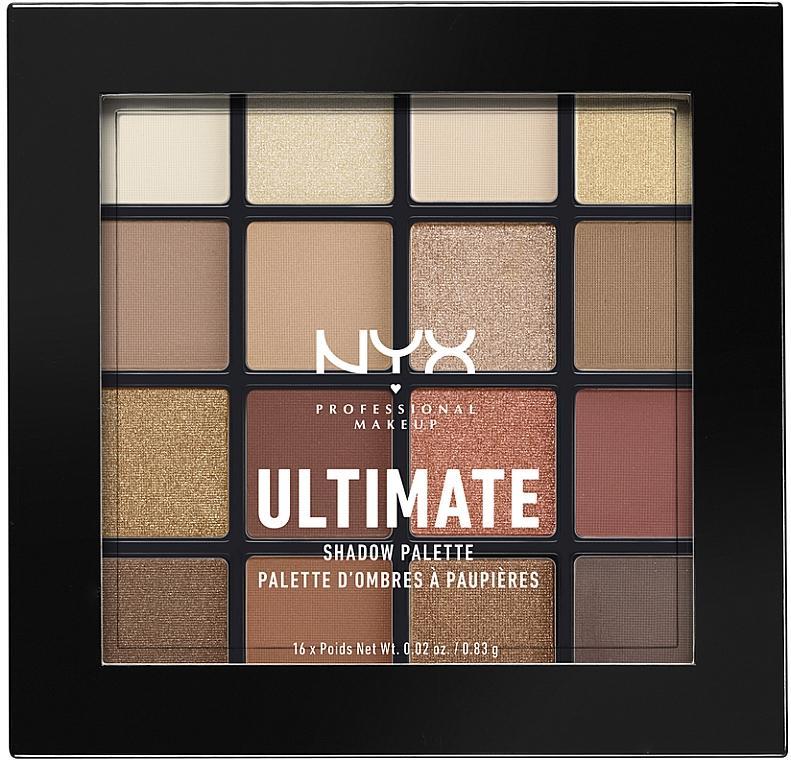 Палетка теней - NYX Professional Makeup Ultimate Shadow Palette