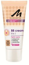 Духи, Парфюмерия, косметика Тональный антибактериальный крем - Manhattan Clear Face BB Antibacterial Cream 9in1