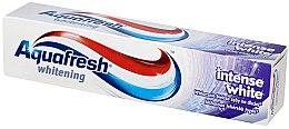 Духи, Парфюмерия, косметика Зубная паста отбеливающая - Aquafresh Whitening Intense White Toothpaste