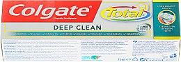 "Зубная паста ""Межзубная чистка"" - Colgate Total Deep Clean Toothpaste — фото N1"