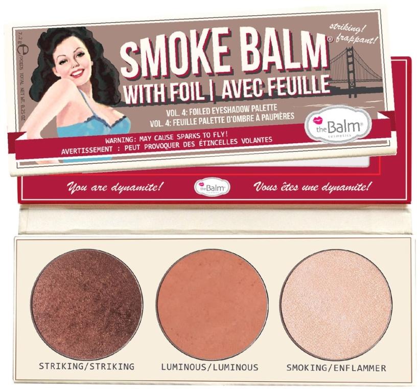 Палетка теней - theBalm Smoke Balm Vol. 4 Foiled Eyeshadow Palette