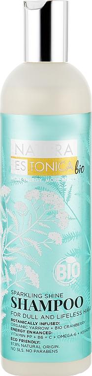 """Шампунь для волос """"Сияющий блеск"""" - Natura Estonica"""
