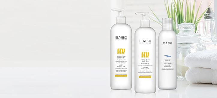 Скидки до 50% на акционные товары Babe Laboratorios. Цены на сайте указаны с учетом скидки