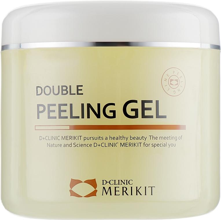 Пилинг гель-скатка для лица - Merikit Double Peeling Gel