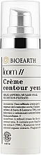 Духи, Парфюмерия, косметика Крем для контура глаз с экстрактом слизи улитки (78%) - Bioearth Loom Creme Contour Yeux