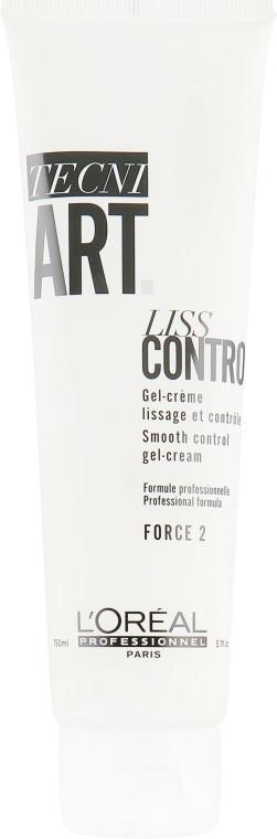 Крем-гель для к гладкости волос - L'Oreal Professionnel Tecni.Art Liss Control Cream-Gel